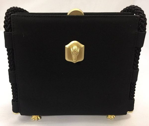 Barry Kieselstein-Cord Black Evening Bag Front View