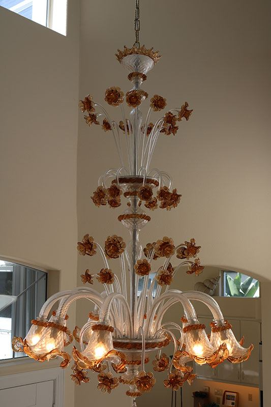 Archimede Segusa Chandelier Side View