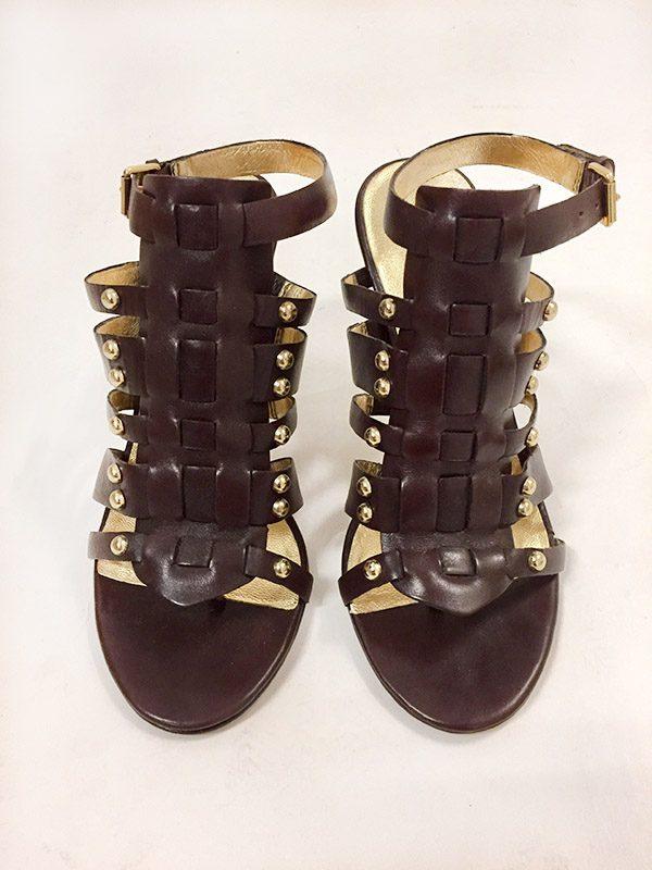 """Kors By Michael Kors """"Dareh"""" High Heel Sandals Front View"""