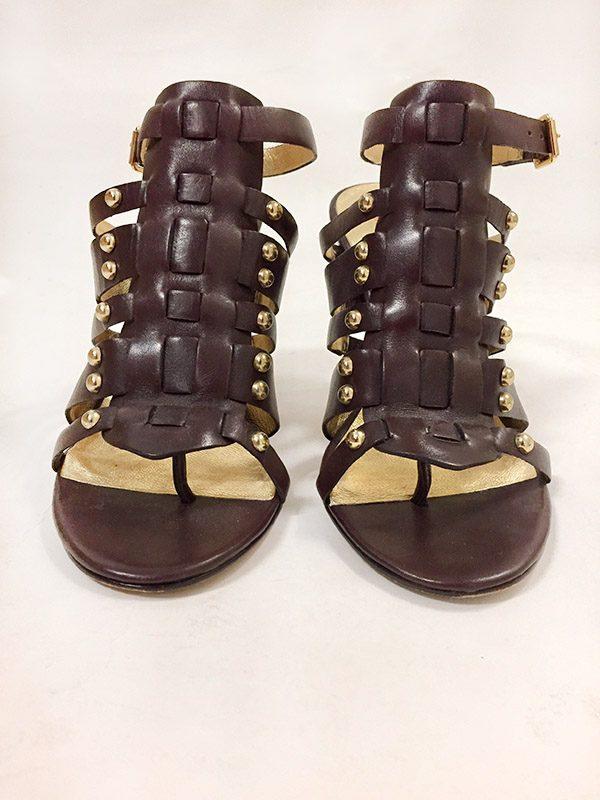 """Kors By Michael Kors """"Dareh"""" High Heel Sandals Front View 2"""