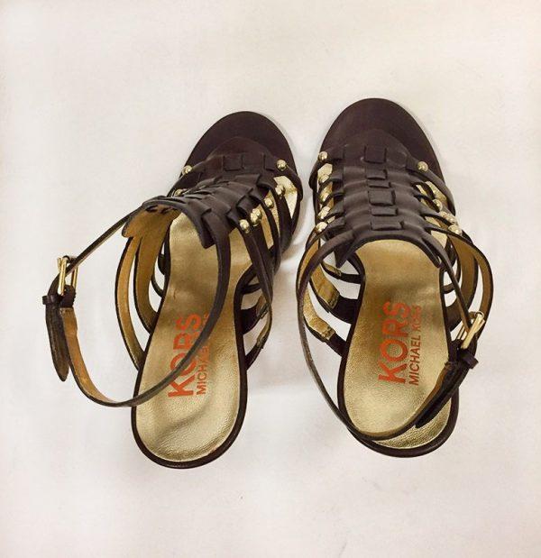 "Kors By Michael Kors ""Dareh"" High Heel Sandals Back View 2"