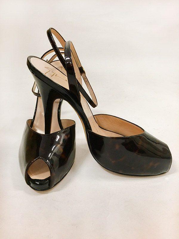 Giuseppe Zanotti Design Tortoise High Heel Sandal Preview View