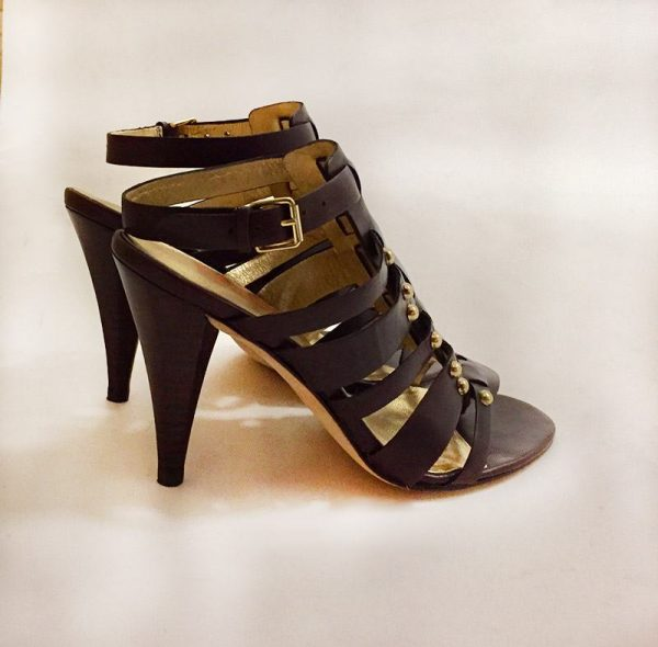 "Kors By Michael Kors ""Dareh"" High Heel Sandals Side View"