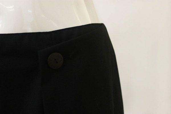 Chanel Button Front Skirt Waist View 2