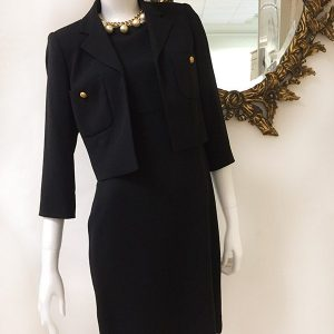 Bloomingdale's Dress With Jacket Preview View 2PC