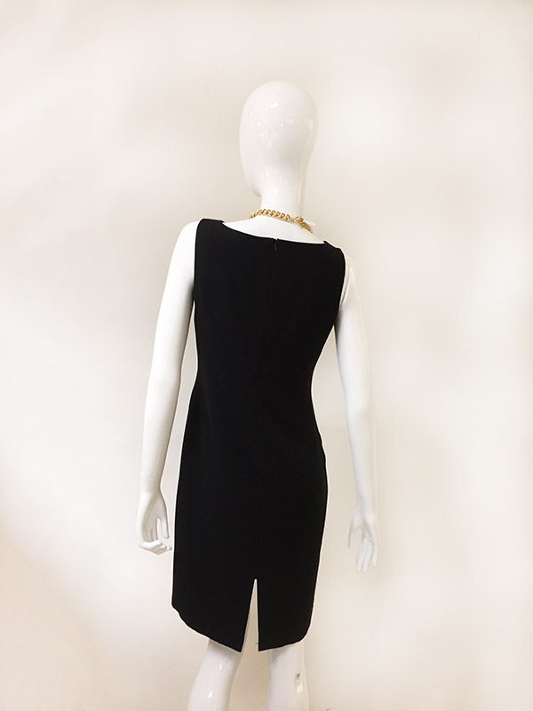 Bloomingdale's Dress With Jacket Back View Dress Only