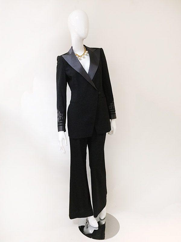 Rena Lange Pant Suit Front View