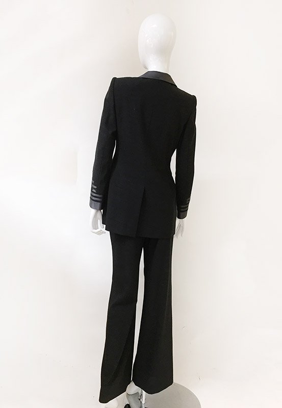 Rena Lange Pant Suit Back View