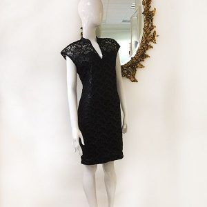 Josie Natori Lace Dress Preview View
