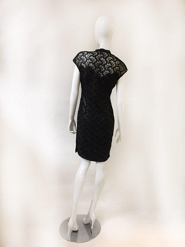 Josie Natori Lace Dress Back View