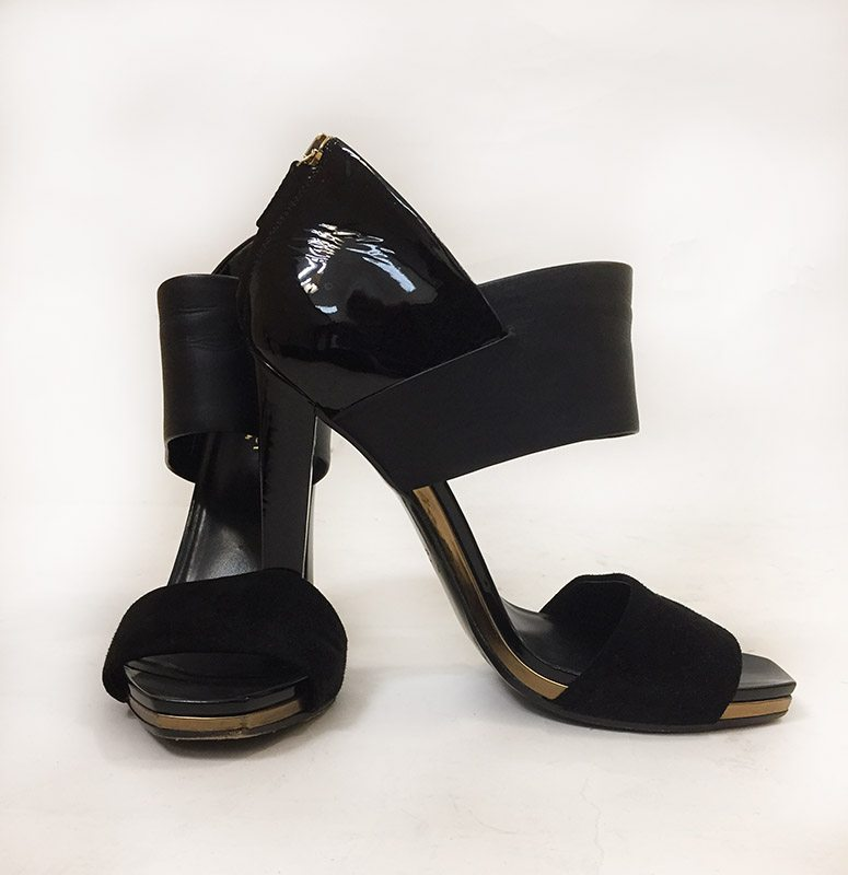 36cedb217 Gucci Back Zip Sandal • Designing Women Boutique - Sarasota, FL