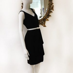 Lafayette 148 Twist Strap Sleeveless Dress Preview View