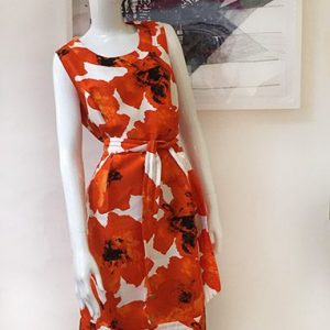 Etcetera Sleeveless Floral Dress Preview View