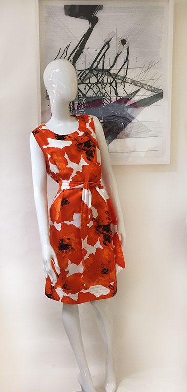 Etcetera Sleeveless Floral Dress Designing Women