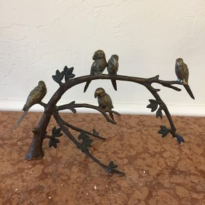Brass Birds On A Branch Preview View