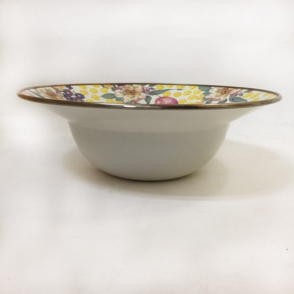 MacKenzie-Childs Buttercup Serving Bowl Side View