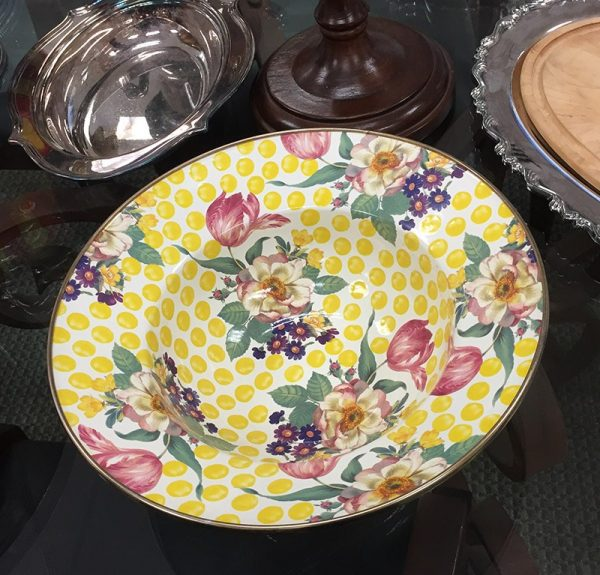MacKenzie-Childs Buttercup Serving Bowl Preview View