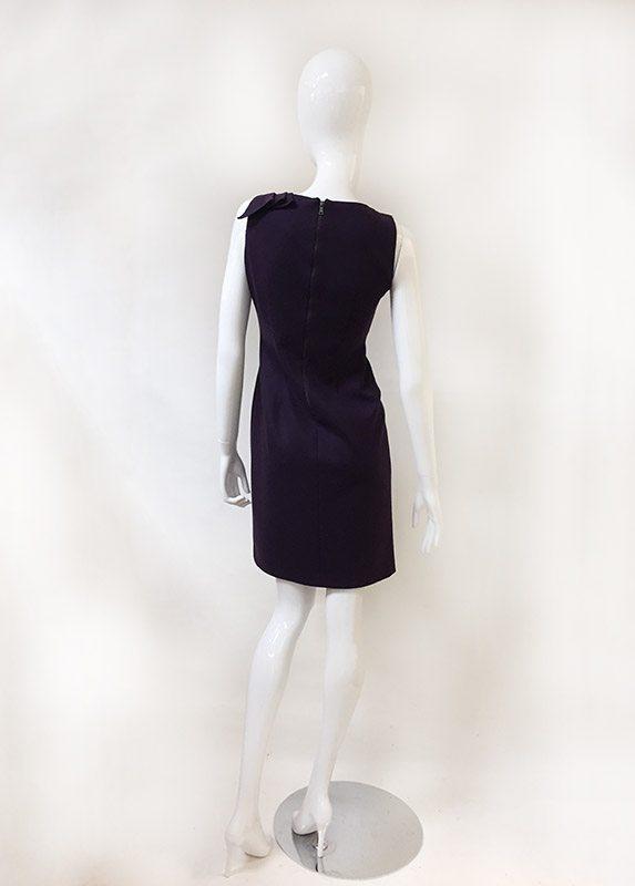 Elie Tahari Sleeveless Dress Back View