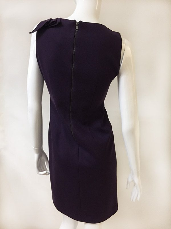 Elie Tahari Sleeveless Dress Back View 2