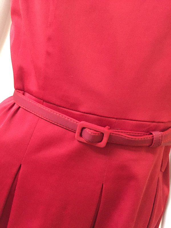 Talbots Belted A-line Dress Belt Close Up View 2