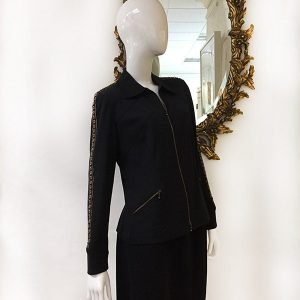 Juliana Collezione Zip Front Jacket Preview View