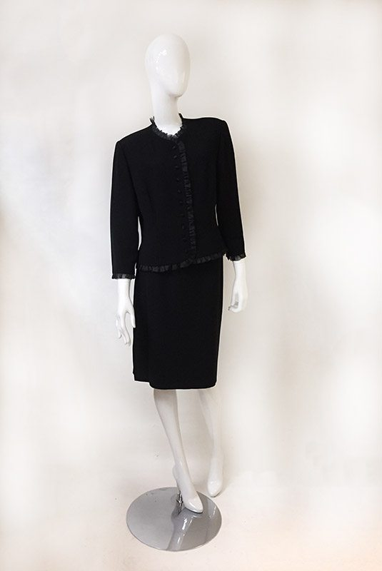 Donna Morgan Skirt Suit Front View