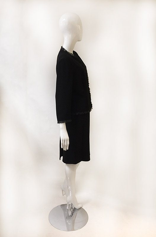 Donna Morgan Skirt Suit Side View