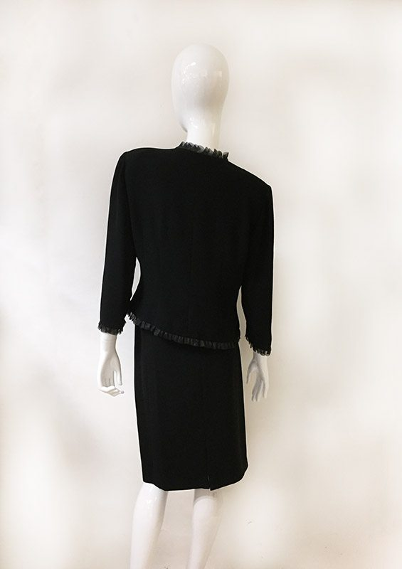 Donna Morgan Skirt Suit Back View