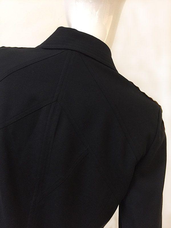 Juliana Collezione Zip Front Jacket Back Detail View