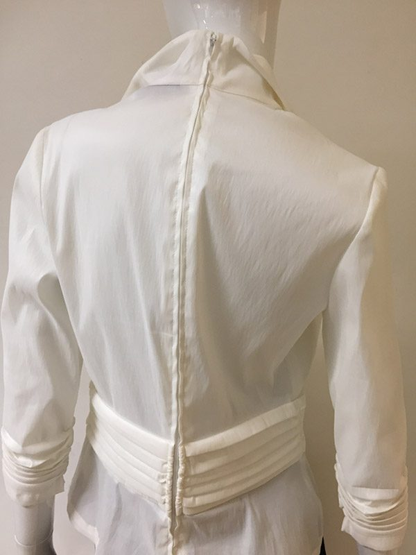 Hartly Back Zip Blouse Back View 2