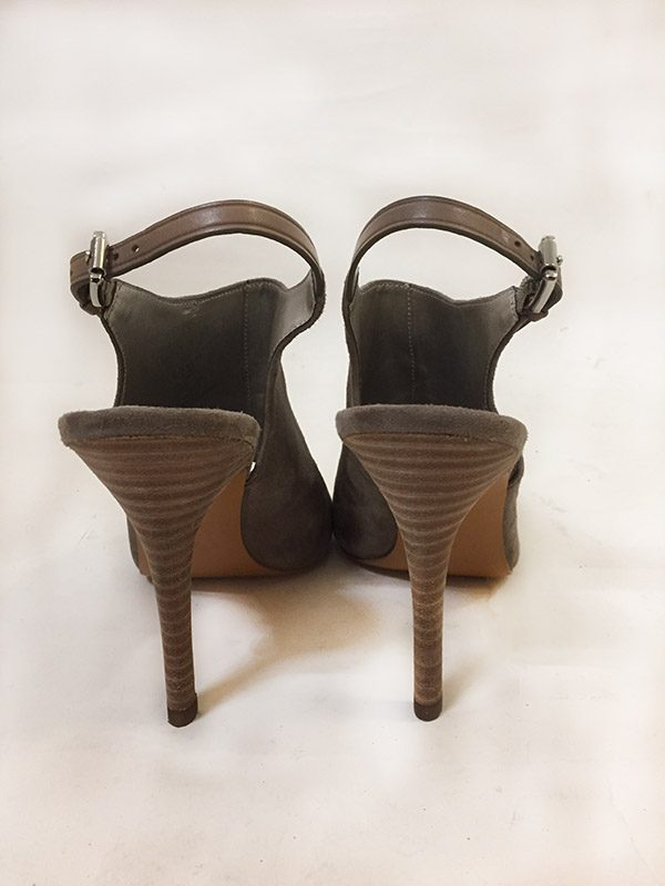 Coach High Heel Sling Backs Back View
