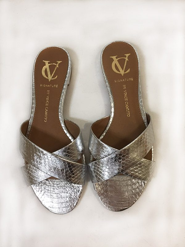 Signature By Vince Camuto Slides Top View