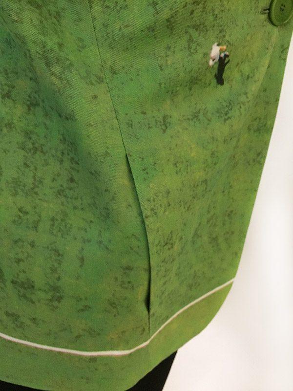 Akris Punto Soccer Field Jacket Close Up Pocket View