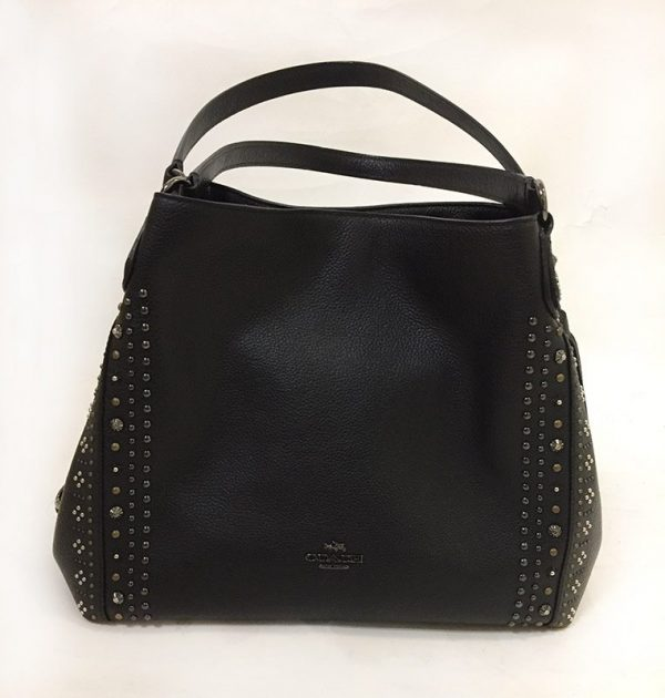 Coach Studded Purse Front View