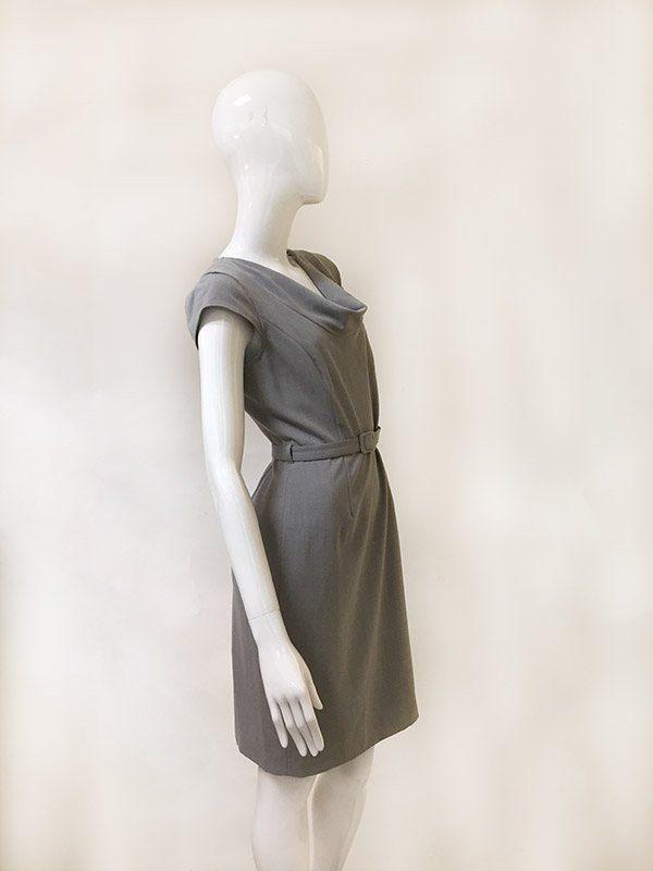 Calvin Klein Belted Dress Side View