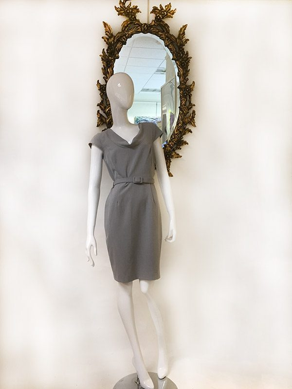 Calvin Klein Belted Dress Preview View