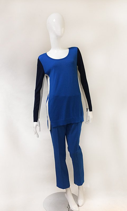 Akris Sweater And Pant Set Front View