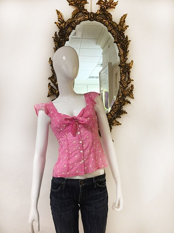 Nanette Lepore Floral Top Preview View