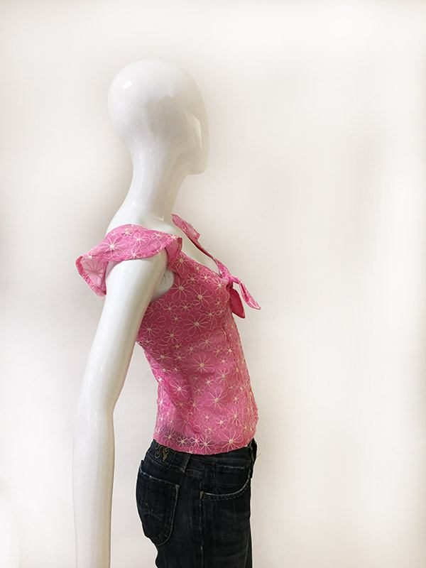 Nanette Lepore Floral Top Side View
