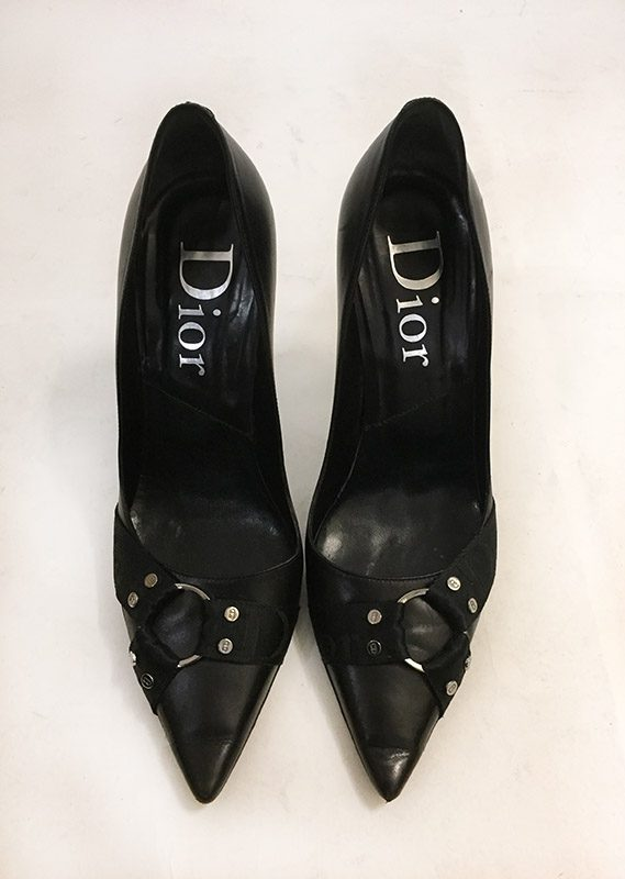 Christian Dior Pointed Toe Pumps Top View