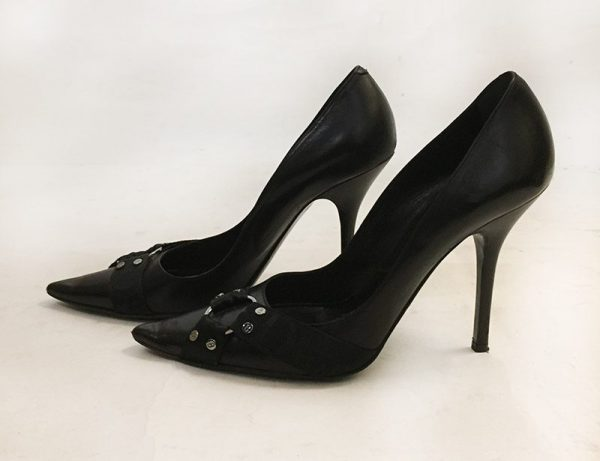 Christian Dior Pointed Toe Pumps Side View 2