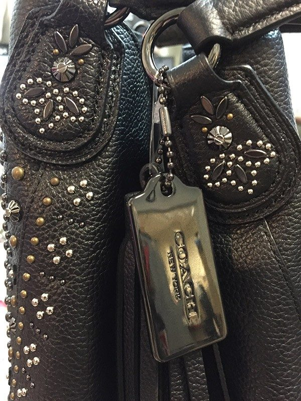Coach Studded Purse Studs View