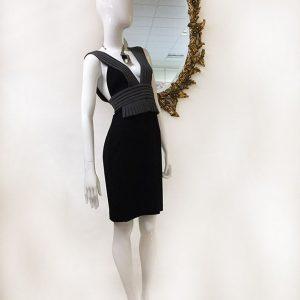 Black Halo Sleeveless Dress Preview View