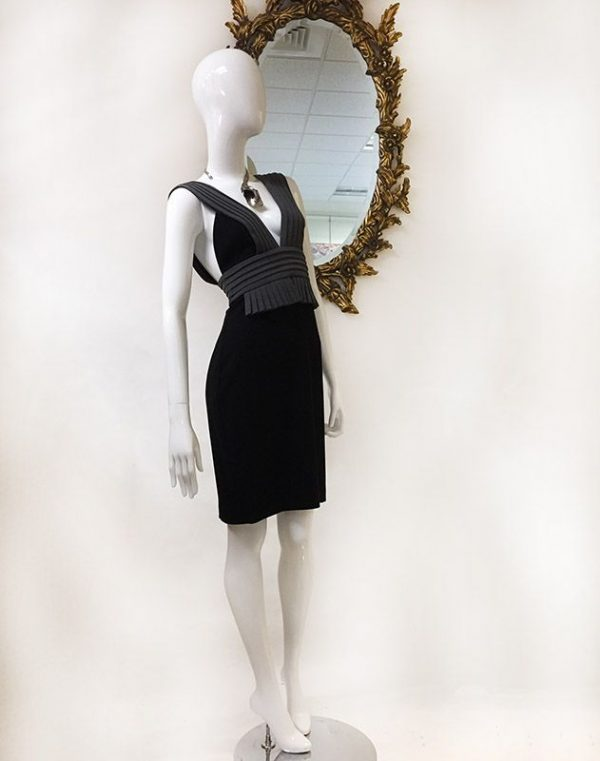 Black Halo Sleeveless Dress Preview View