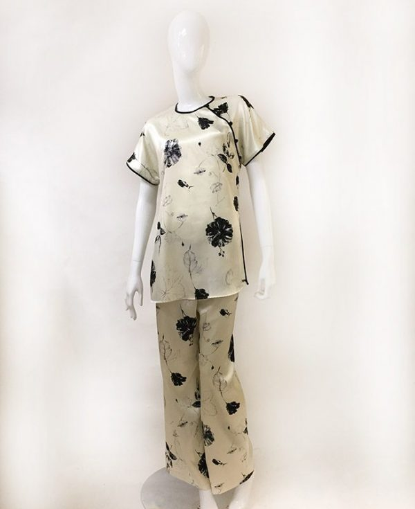 Natori Asian Inspired Pajama Set Front View