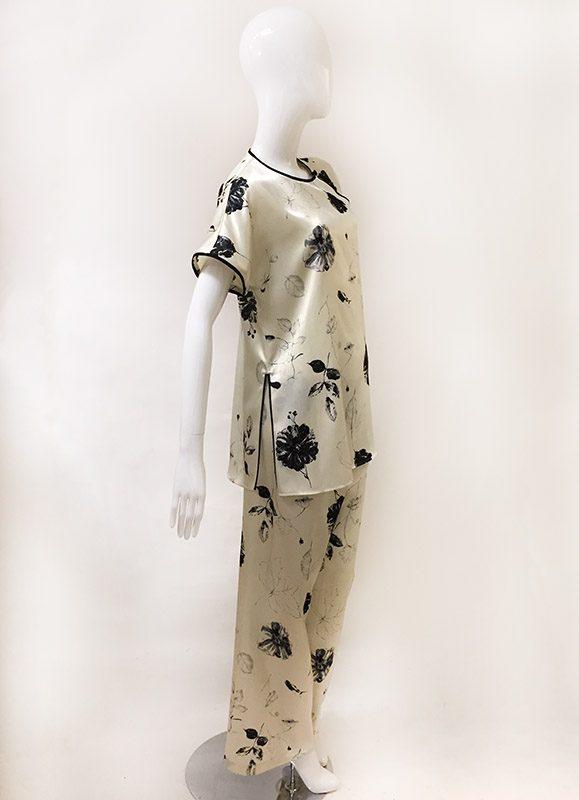Natori Asian Inspired Pajama Set Side View