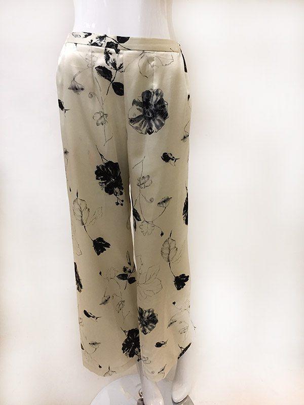 Natori Asian Inspired Pajama Set Pant Front View