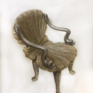 Carved Wood Grotto Chair Preview View