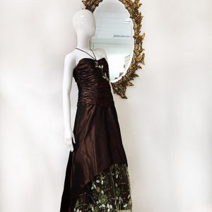 Pesavento Couture Brown Gown Preview View