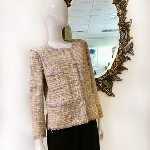 Chanel Pastel Tweed Jacket Preview View